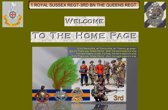 1 Royal Sussex, 3rd Bn Queens