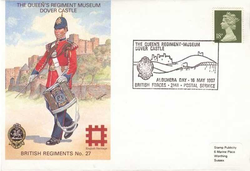 GB Cover 1987 - The Queen's Regiment Museum - Dover Castle