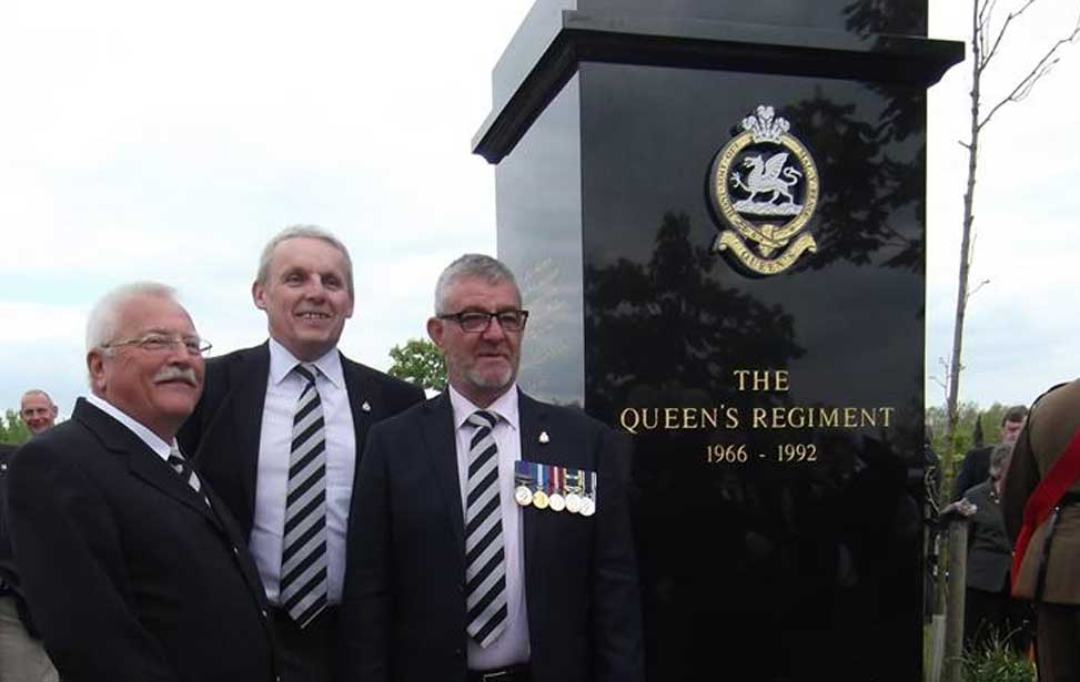 queen's regiment memorial, nma