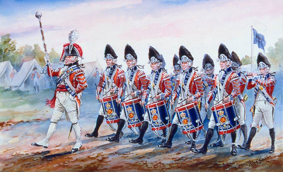The 2nd (Queen's Royal) Regiment of Foot