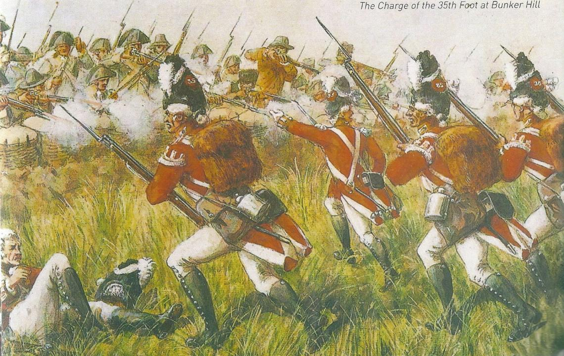 The Charge of the 35th at Bunker Hill