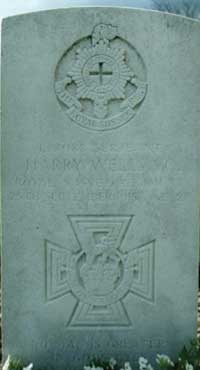 Sergeant Harry Wells VC