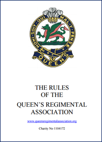 rules of the queens regimental association