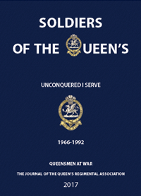 queen's regiment, 50th anniversary edition